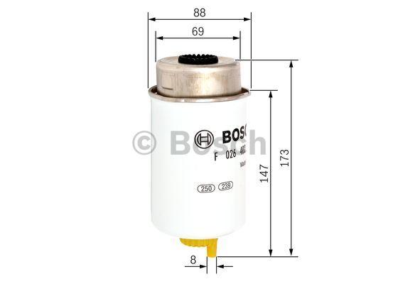 fuel filter bosch f026402088 n2088